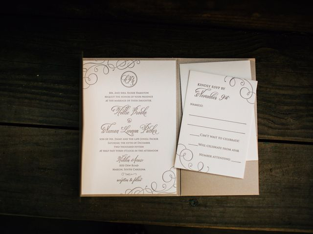 Hollie and Numan's Wedding in Marion, South Carolina 1