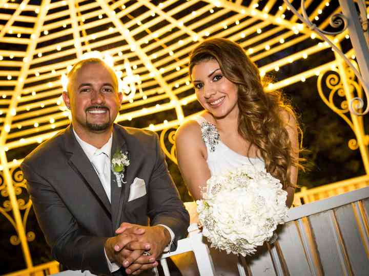 The wedding of Lluvia and Noah