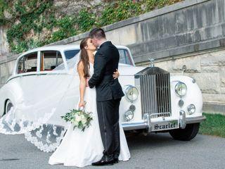 The wedding of Sarah and Patrick