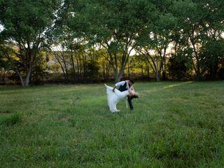 The wedding of Melissa and Orlando