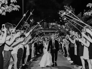 The wedding of David and Crystal 1