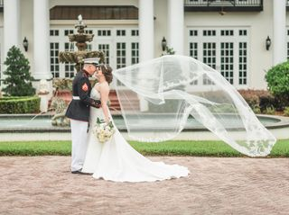The wedding of Caroline and Tyler