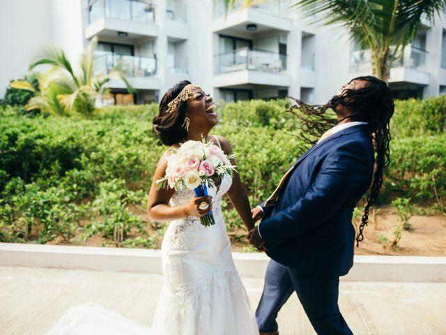 Rodney and Annie's Wedding in Bavaro, Dominican Republic 38