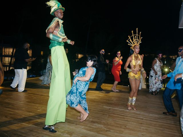 Rodney and Annie's Wedding in Bavaro, Dominican Republic 89
