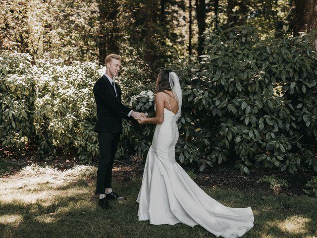The wedding of David and Crystal