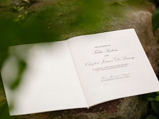 The wedding of Clayton and Talia 1