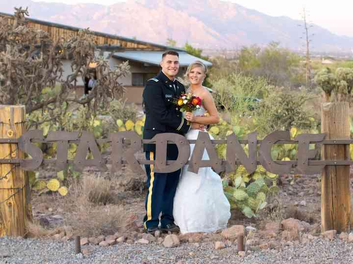 The wedding of Sierra and John