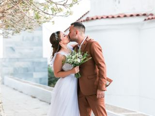 The wedding of Nikos and Marilena