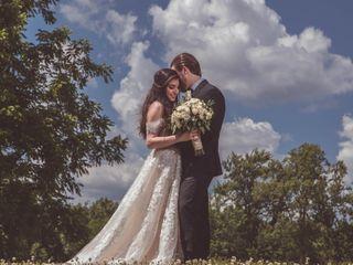 The wedding of Adam and Deana