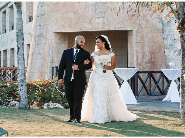 Terrance and Courtney's Wedding in Punta Cana, Dominican Republic 15