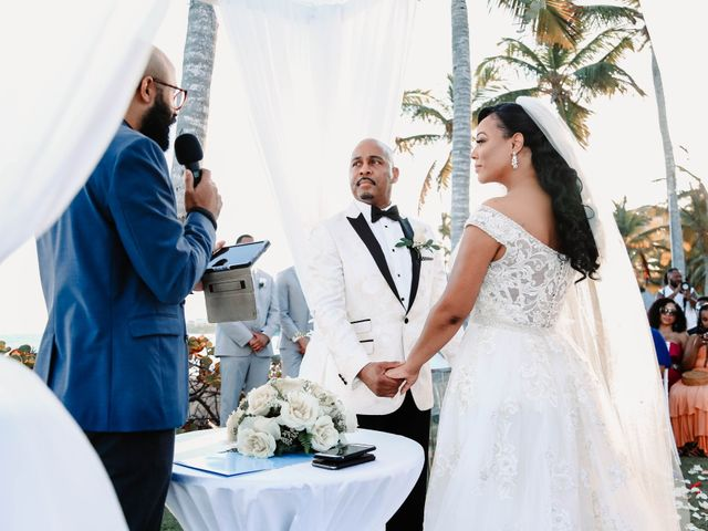 Terrance and Courtney's Wedding in Punta Cana, Dominican Republic 16