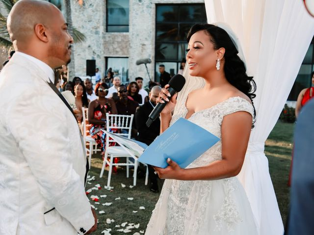 Terrance and Courtney's Wedding in Punta Cana, Dominican Republic 17