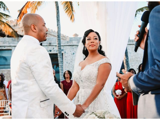 Terrance and Courtney's Wedding in Punta Cana, Dominican Republic 18