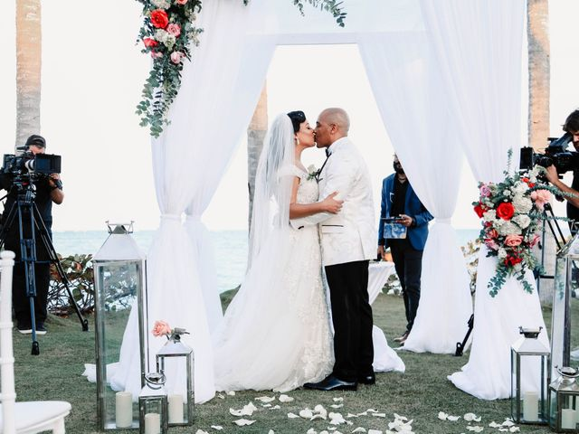 Terrance and Courtney's Wedding in Punta Cana, Dominican Republic 19