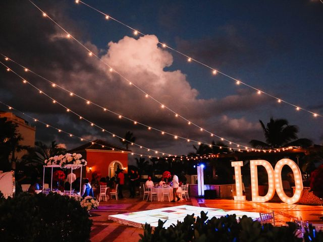 Terrance and Courtney's Wedding in Punta Cana, Dominican Republic 36