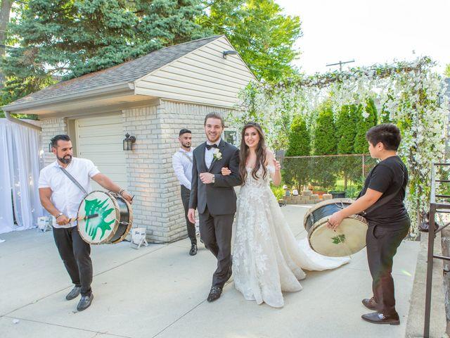 Deana and Adam's Wedding in Dearborn Heights, Michigan 20