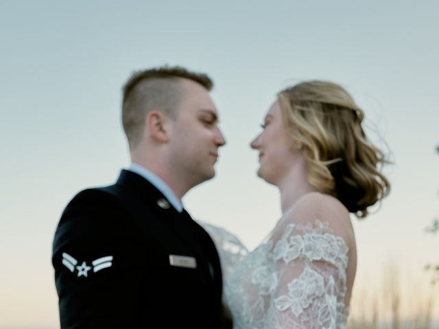 Garrett and Gavynne's Wedding in Purlear, North Carolina 3
