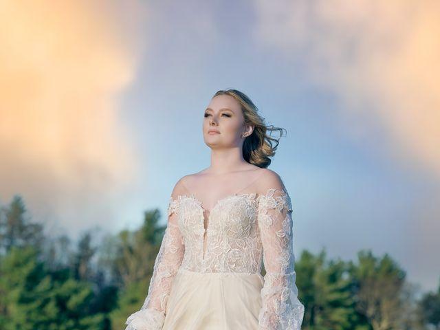 Garrett and Gavynne's Wedding in Purlear, North Carolina 5