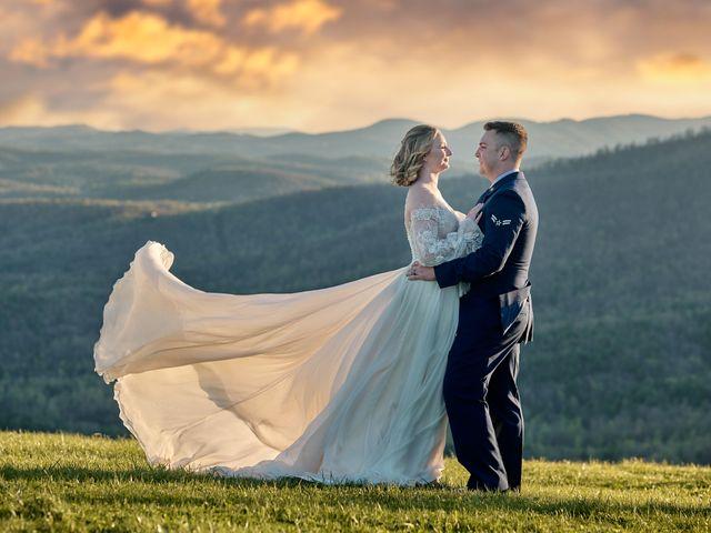 The wedding of Gavynne and Garrett