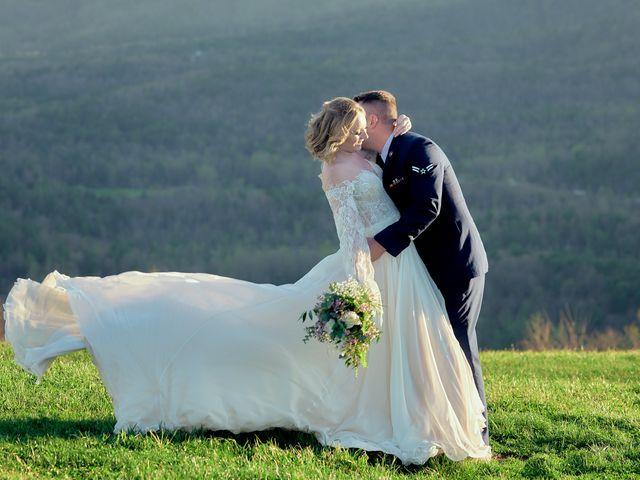 Garrett and Gavynne's Wedding in Purlear, North Carolina 8