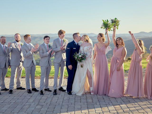 Garrett and Gavynne's Wedding in Purlear, North Carolina 9