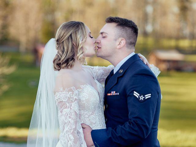 Garrett and Gavynne's Wedding in Purlear, North Carolina 10