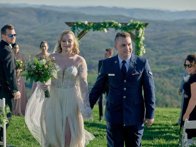 Garrett and Gavynne's Wedding in Purlear, North Carolina 13