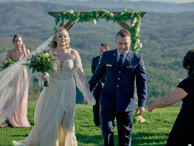 Garrett and Gavynne's Wedding in Purlear, North Carolina 14