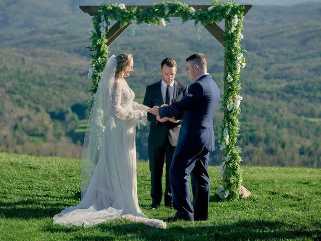 Garrett and Gavynne's Wedding in Purlear, North Carolina 15