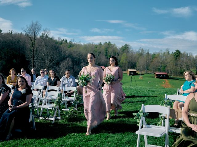 Garrett and Gavynne's Wedding in Purlear, North Carolina 16