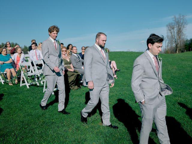 Garrett and Gavynne's Wedding in Purlear, North Carolina 17