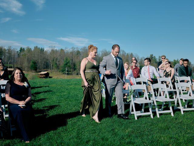 Garrett and Gavynne's Wedding in Purlear, North Carolina 18