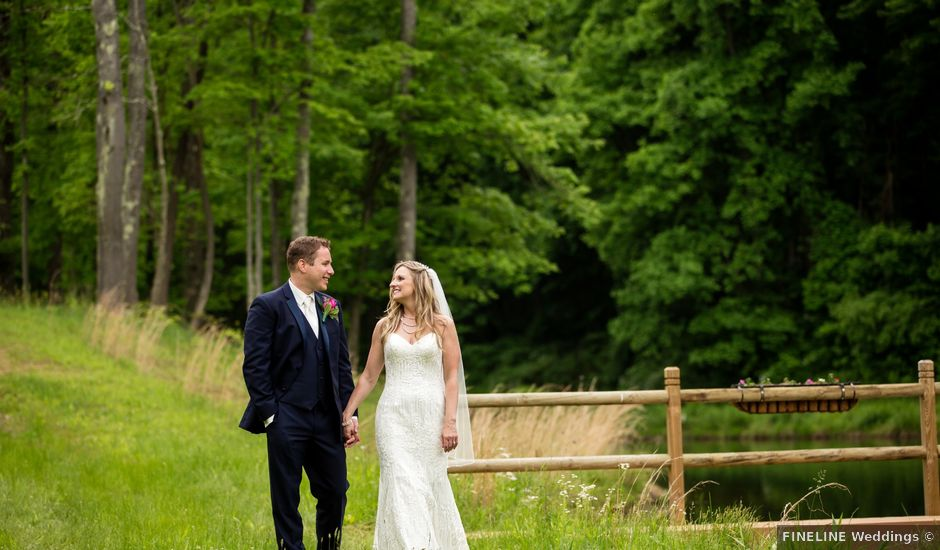 Vince and Melissa's Wedding in Ligonier, Pennsylvania