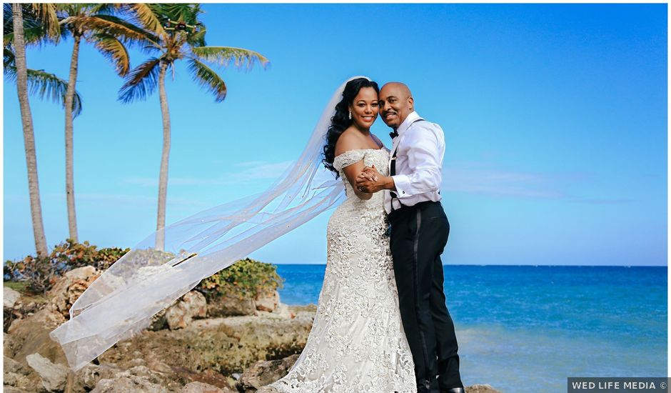 Terrance and Courtney's Wedding in Punta Cana, Dominican Republic