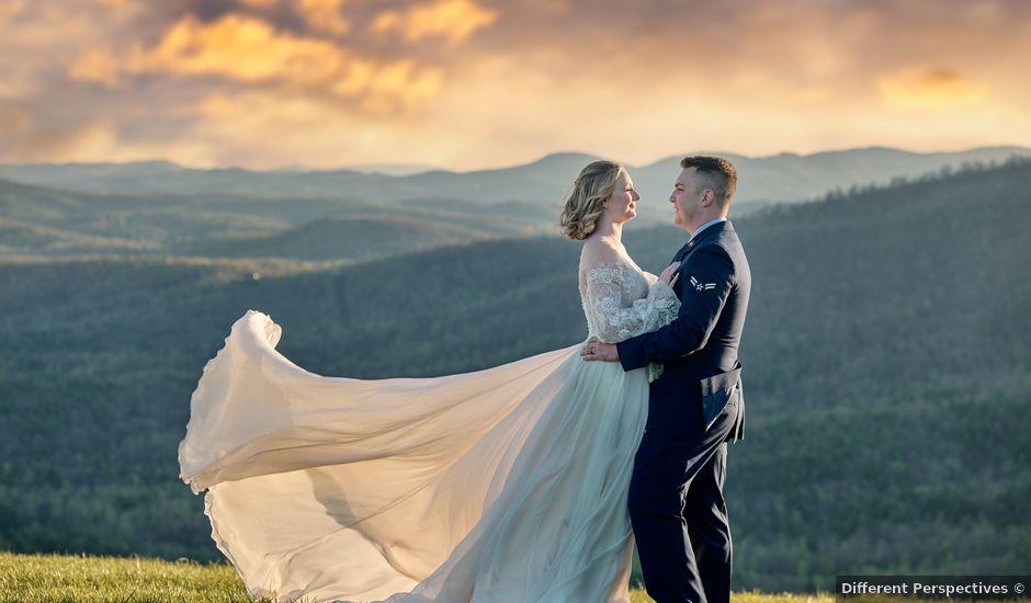 Garrett and Gavynne's Wedding in Purlear, North Carolina