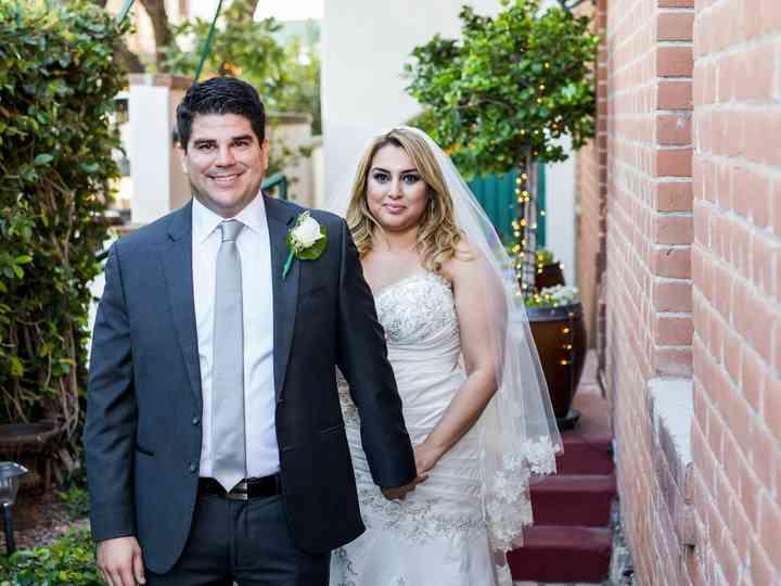 The wedding of Jackie and Robert