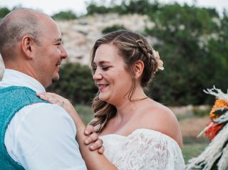 The wedding of Audrey and Jerard