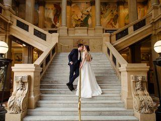 The wedding of Lauren and Ian