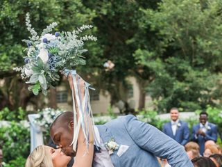 The wedding of Caroline and Lance