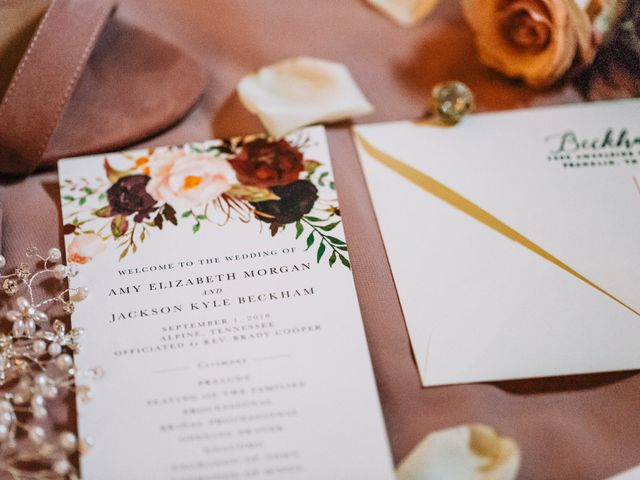 Jackson and Amy's Wedding in Livingston, Tennessee 1