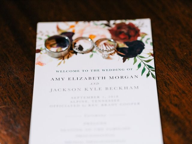 Jackson and Amy's Wedding in Livingston, Tennessee 2