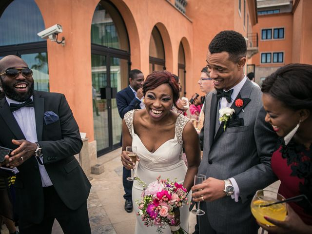 Joe and Gerri's Wedding in Cascais, Portugal 17