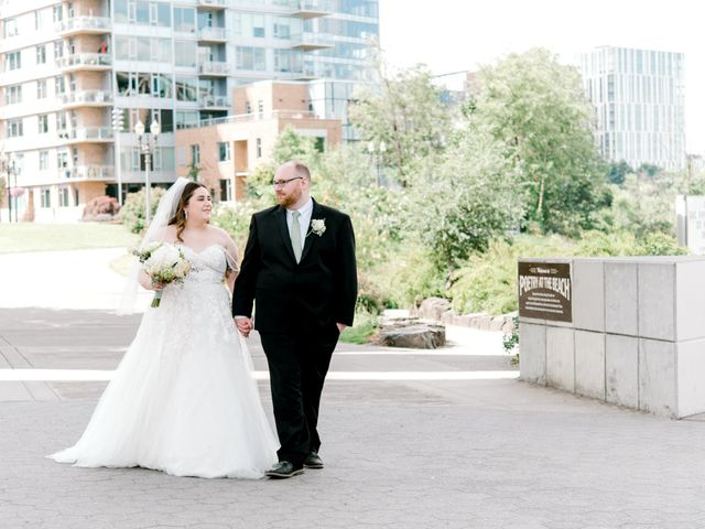The wedding of Angela and Andrew