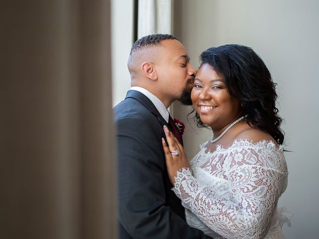 The wedding of Tierra and Dwight
