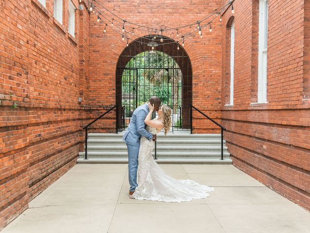 Lance and Caroline's Wedding in Sanford, Florida 17