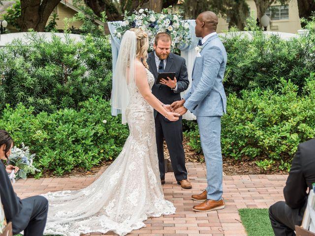 Lance and Caroline's Wedding in Sanford, Florida 33