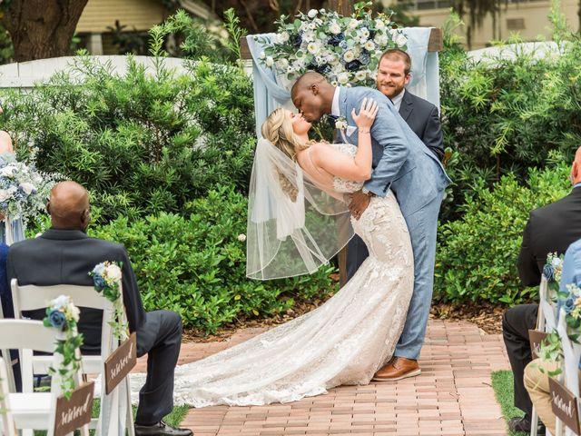 Lance and Caroline's Wedding in Sanford, Florida 34