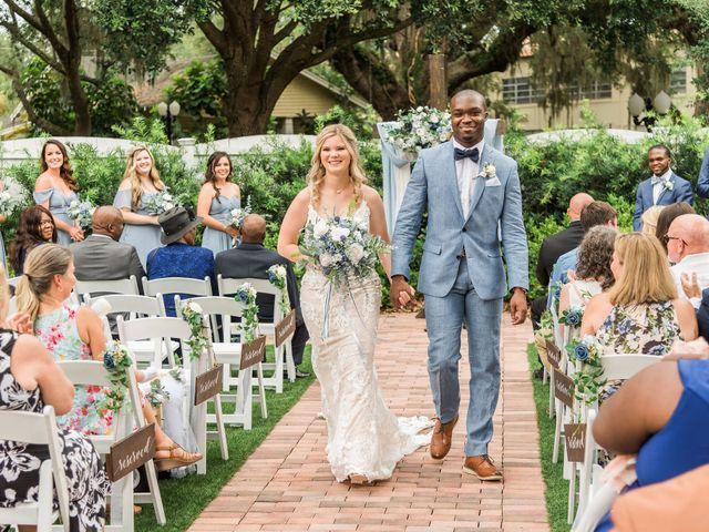 Lance and Caroline's Wedding in Sanford, Florida 35