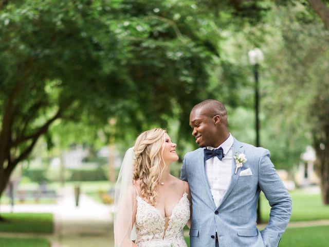 Lance and Caroline's Wedding in Sanford, Florida 43
