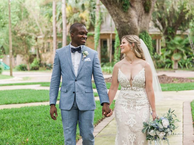 Lance and Caroline's Wedding in Sanford, Florida 50
